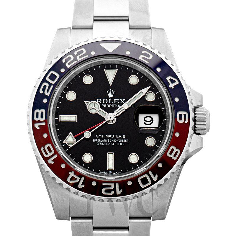 GMTマスターII 126710BLRO [オイスターブレスレット ブラック] 製品画像